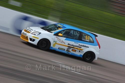 Fiesta Championship at the BRSCC Weekend at Rockingham, May 2016
