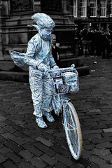 Paper man (???580) Tags: edinburghfringe paperman edinburgh