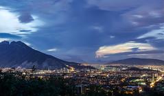 City overlook (ricardogz10) Tags: city mountain storm mxico mexico san pedro cerro leon garcia montaa overlook monterrey nuevo garza mitras