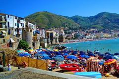 Sicilia, Cefal (gerard eder) Tags: world travel italien italy beach strand europa europe italia playa viajes sicilia reise cefal sizilie
