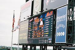 000016 () Tags: newyork film baseball pentax 85mm f18 mets mlb portra160  esii autotakumar  citifield