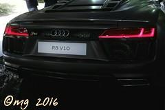 R8 v10 (marco guglielmi) Tags: auto cars audi r8 sportiva parcodelvalentino hypersport