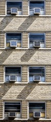 Symmetry (Richard Ricciardi) Tags: windows summer hot geometric window air symmetry airconditioner heat symmetric symmetrical balanced conditioner   proportional