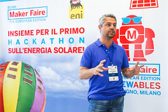 ReNewHack: Eni e Maker Faire insieme per il primo hackathon sullenergia solare. (A major integrated energy company) Tags: team energy technology evento eni tecnologia makers energia premio progetto hackathon renewables makerfaire politecnicomilano energiasolare rinnovabili