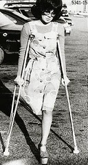 H5341_15_anonib 1970s platform soled monopede (jackcast2015) Tags: handicapped disabled disabledwoman cripledwoman onelegwoman oneleggedwoman monopede amputee legamputee crutches