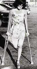 H5341_15_anonib 1970s platform soled monopede (jackcast2015) Tags: handicapped disabled disabledwoman cripledwoman onelegwoman oneleggedwoman monopede amputee legamputee crutches