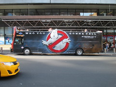 Ghost Busters Movie Billboard Bus AD 3-D NYC 1767 (Brechtbug) Tags: street new york city nyc ladies bus film halloween st lady female port ads movie advertising logo marketing 3d team women funny comedy humorous comic ghost authority humor ad terminal billboard boo spooky commercial second ghosts ban forty 42nd spectral supernatural banning busters spook sequel ters 2016 standee