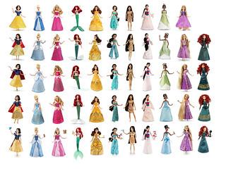 Disney Store Classic dolls 2012-2016