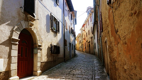 Streets of Motovun, Croatia