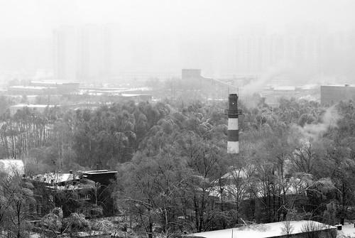Chimney in b&w ©  Andrey