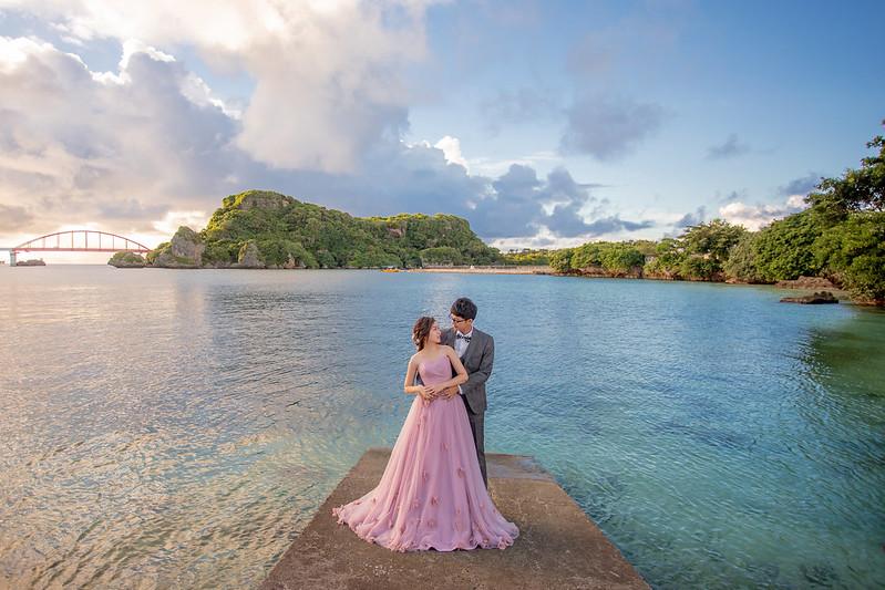 沖繩婚紗,沖繩海邊,婚紗攝影,海外婚紗,新原海灘,伊計島