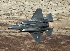 BELLY (Dafydd RJ Phillips) Tags: 323 tes f35 f35a lightning death valley low level afterburner dutch netherlands air force royal edwards afb usa united states avgeek
