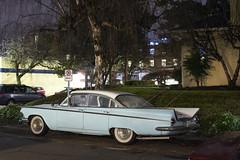 '59 LeSabre (Curtis Gregory Perry) Tags: portland oregon buick 1959 59 lesabre classic car sedan blue vehicle auto automobile nikon d810 night longexposure automóvil coche carro vehículo مركبة veículo fahrzeug automobil