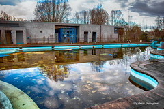 Cloud pool... (Fabke.be) Tags: urbex old abandoned abandonned explore inexplore urban exploring rust roest green canon canon7d 7dmkii 1755 28 total decay exploration abandonment sad danger melancholy ruin vintage dirty broken past derelict somber aged history expedition wood nature play playgarden speeltuin vlaamse ardennen