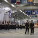 CNO arrives for recruit graduation