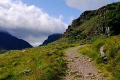 DSCF3044 (-IJSC-) Tags: killarney ireland irish irishrepublic landscape nature mountains path clouds hike