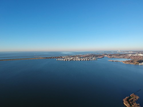 Prachtige weer in Lelystad-Haven