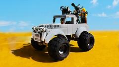 Lego Mad Max Fury Road Bigfoot (hachiroku24) Tags: lego mad max fury road big foot bigfoot monster truck moc
