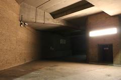 Night Shoot ,61 (doojohn701) Tags: concrete camera cctv glare flourescent entrance door road shadow dusk dark building bexleyheath uk atmospheric