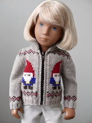 New Girl (Jay Bird Finnigan) Tags: sasha doll knitting gnome clothes sweater
