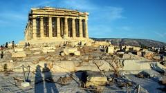 The Parthenon in summer (routemates) Tags: europe athens greece antiquity mediterranean acropolis lycabetus parthenon