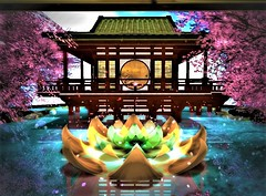 """"""" Reflections """" (maka_kagesl) Tags: secondlife sl second life game gaming garden games green videogame virtual water tree trees flowers flower sky air color portrait photography photo picture pic painting ps photoshop paint"""