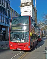 abellio london 9534 SN12 ABZ (mj.barbour) Tags: alexander dennis enviro 400 tram replacement bus abellio london 9534 sn12 abz