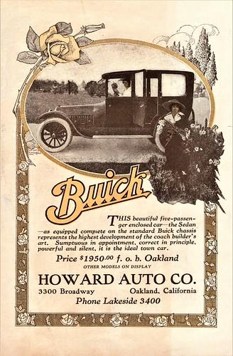 1917 Buick Five-Passenger Sedan