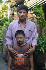 father and son (the foreign photographer - ฝรั่งถ่) Tags: father son mentally challenged khlong bang bua portraits bangkhen bangkok thailand nikon d3200