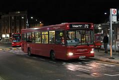 Route 72, London United, DPS30673, LG02FHC (Jack Marian) Tags: route72 londonunited dps30673 lg02fhc dennis dart dennisdart plaxton pointer plaxtonpointer eastacton roehamptonbessboroughroad hammersmith hammersmithbusstation buses bus london