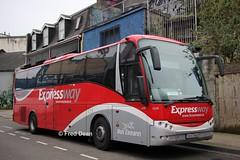 Bus Eireann LC21 (08D23999). (Fred Dean Jnr) Tags: buseireann expressway daf sb4000 vdl berkhof axial lc21 08d23999 cork deanestreetcork march2019