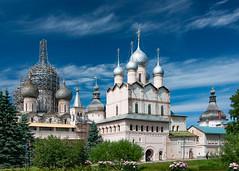 Rostov kreml (KonstEv) Tags: church orthodox sky wall cathedral kreml russia rostov architecture gate