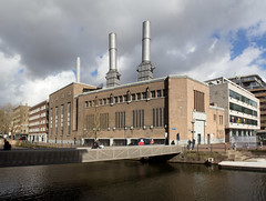 Rotterdam - Onderstation GEB (Grotevriendelijkereus) Tags: rotterdam netherlands nederland holland city stad town centrum center gebouw building architecture architectuur