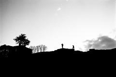 L2990382 (RG-Photographie) Tags: 35mm analog argentique film kingofbokeh kob leica leicam2 monochrom noiretblanc rollei rpx100 summicron lyon fourvière théâtreromain amphithéâtre streetphotography silhouette