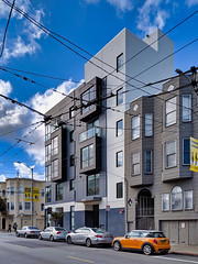 San Francisco architecture (dalecruse) Tags: sanfrancisco san francisco sf ca california architecture building buildings door doors window windows street streets bluesky blue sky skyblue