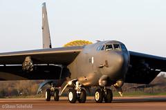 Boeing B-52H Stratofortress 61-0013/LA US Air Force RAF Fairford 28/03/19 (Shaun Schofield) Tags: buff bomber b52h stratofortress usaf raf fairford jet aircraft aviation