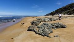 MMXVIII (Keith Midson) Tags: trial harbour tasmania trialharbour beach seascape shoreline sand water ocean sea westcoast rocks boy child walking