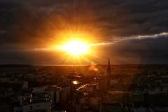 Sunset sur Brest (erwancalves) Tags: westcoast soleil breizh bretagne bzh sunset brest groupenuagesetciel