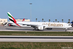 Emirates Boeing 777-31HER  |  A6-ECT  |  LMML (Melvin Debono) Tags: emirates boeing 77731her | a6ect lmml cn 35591 malta mla melvin debono spotting canon eos 5d mark iv plane planes photography airport airplane aircraft