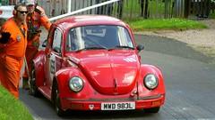 VW Beetle 1303 1973 Porsche Engine (2) (badhands13) Tags: 169 porsche red vw volkswagen beetle 1973 modified motorsport shelsleywalsh 1303 mwd983l