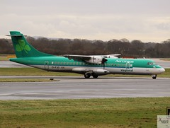 Aer Lingus Regional ATR72-600 EI-FAS (Op by Stobart Air) taxiing at MAN/EGCC (AviationEagle32) Tags: manchester man manchesterairport manchesteravp manchesterairportatc manchesterairportt1 manchesterairportt2 manchesterairportt3 manchesterairportviewingpark egcc ringway ringwayairport unitedkingdom uk airport aircraft airplanes apron aviation aeroplanes avp aviationphotography avgeek aviationlovers aviationgeek aeroplane airplane planespotting planes plane flying flickraviation flight vehicle tarmac aerlingus aerlingusregional stobartair shamrock atr atr72 atr72600 atr726 eifas