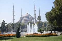 Sultan Ahmed Mosque-Istanbul (hamid-golpesar) Tags: sultanahmetmosque sultanahmed sultanahmedmosque sultanahmet istanbul turkey bluemosque mosque landscape nature iran owaysee outdoor tabriz travel hamid hamidowaysee hamidgolpesar sky people tree ottomanarchitecture ottomanempire islamicarchitecture building