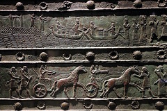 Gate band from the palace of Balawat (Detail) (calmeilles) Tags: london england unitedkingdom ashurbanipal britishmuseum assyria ancienthistory archaeology middleeast nineveh