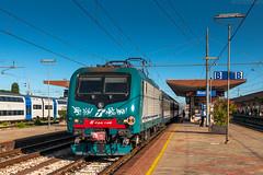 E.464-148 [Trenitalia] (wylaczpantedlugie) Tags: e464 trenitalia rimini dworzec