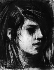 Fragments of a Shattered Memory: Part 6 (Skyler Brown Art) Tags: mayahaines angst art artwork bw blackwhite blackandwhite charcoal creepy dark darkness depressing drawing female germanexpressionism girl gothic greyscale intense longing love macabre nature ominous paper people sad scary shadow shadows woman