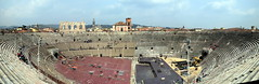 Amphitheatre (Worthing Wanderer) Tags: verona italy spring april sunny city roman ruins architecture