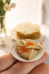 Масленица (kinmegami) Tags: polymerclay handmade масленица maslenitsa crepes