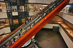 20190303_DP0Q6621 (NAMARA EXPRESS) Tags: travel construction structure escalator night spring indoor color minatomirai yokohama kanagawa japan spp spp661 foveon x3 sigma dp0 quattro wide ultrawide superwide namaraexp