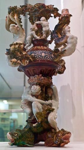 Renaissance Chandelier (1894) - Rafael Bordalo Pinheiro (1846 - 1905)