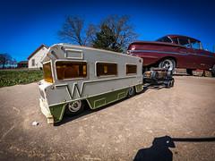 Tonka Winnebago rc RatRod hauler Part 3, Test Drive and Trailer-4 (Strangely Different) Tags: tonka winnebago miniwinni rccar rcengineering customrc tinytrucks rccars rc4wd tamiya hobby axial scaler scalerc chopped patina rusty custom scratchbuilt